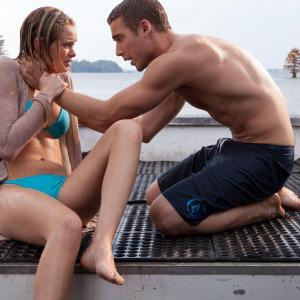 Still of Sara Paxton and Dustin Milligan in Shark Night 3D (2011)