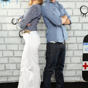 Sara Paxton and Dustin Milligan at event of Shark Night 3D (2011)