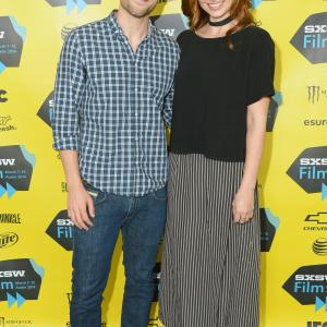 Aly Michalka and Dustin Milligan at event of Sequoia (2014)