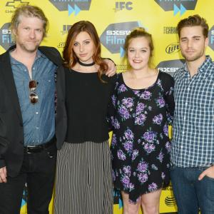 Todd Lowe, Aly Michalka, Sophi Bairley and Dustin Milligan at event of Sequoia (2014)