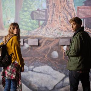 Still of Aly Michalka and Dustin Milligan in Sequoia (2014)