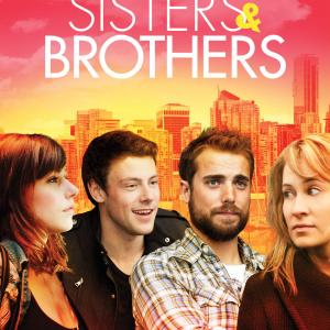Camille Sullivan, Amanda Crew, Dustin Milligan and Cory Monteith in Sisters & Brothers (2011)