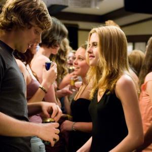 Still of Kristen Stewart and Dustin Milligan in In the Land of Women (2007)
