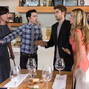 Denise Richards, Krista Allen, Josh Zuckerman, Nathaniel Buzolic