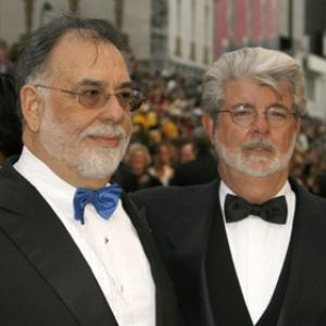 George Lucas and Francis Ford Coppola at event of The 79th Annual Academy Awards 2007