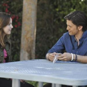 Still of Kay Panabaker and Jackson Rathbone in No Ordinary Family (2010)