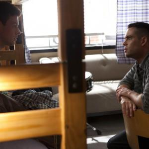 Still of Mark Salling and Cory Monteith in Glee 2009