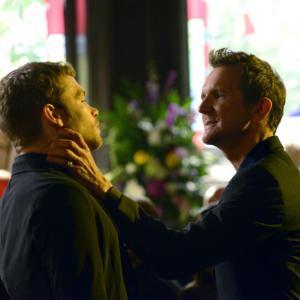 Still of Sebastian Roch and Joseph Morgan in The Originals 2013