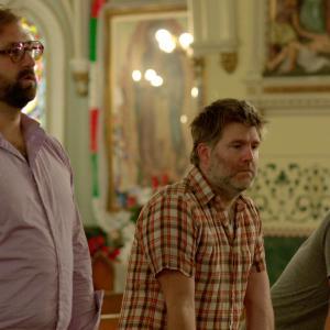 Still of Tim Heidecker, Eric Wareheim and James Murphy in The Comedy (2012)