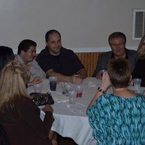 Joe Donofrio Nick Lanciano Robert Bizik and Trisha Graybill at an event for the feature film MIXER
