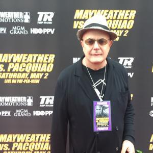 Edward Bass at Pacquiao Mayweather Press Conferenece