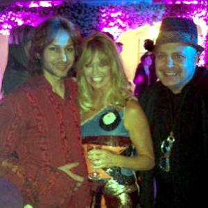 Edward Bass Goldie Hawn Cyrus Pahlavi