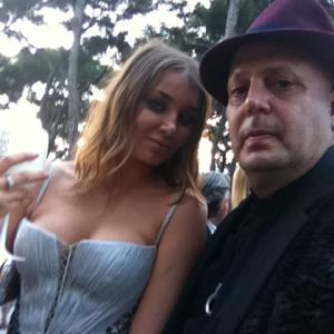 Edward Bass and Miss Russia