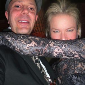 Edward Bass with Renee Zelweger.