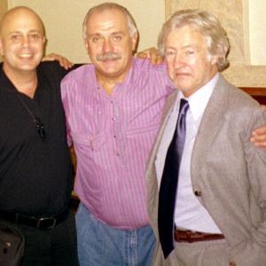Edward bass with Nikita Mikhalkov and John Daly.