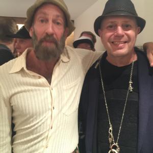 Edward Bass and Kenny Scharf