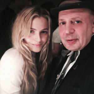 Edward Bass with Valentina Zenyaeava