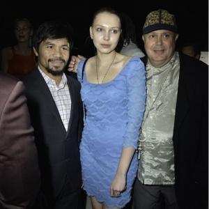 Pacquiao, Hannah and Edward Bass