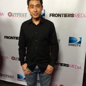 William Ngo at Outfest
