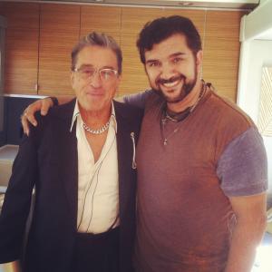 Robert De Niro and Stephen Cyrus Sepher