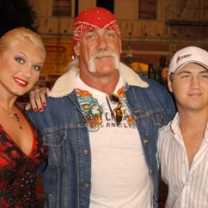 Hulk Hogan Brooke Hogan and Nick Hogan at event of Get Rich or Die Tryin 2005