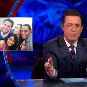 Still of Stephen Colbert in The Colbert Report 2005