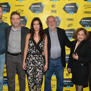 Robert Duvall, Emilio Aragón, Angie Cepeda, William D. Wittliff, Jim Parrack