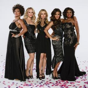 April Parker-Jones, Edwina Findley Dickerson, Zulay Henao, Amanda Clayton, Heather Hemmens
