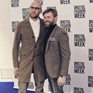 Joe and Tom Sims at Bristol Fashion Week