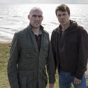 Joe sims and Andrew Buchan