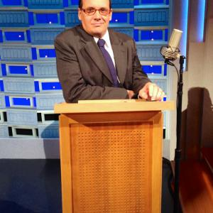 Stand in for Steve Higgins on the Tonight show with Jimmy Fallon