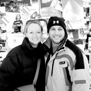 with Susan Johnson at Sundance