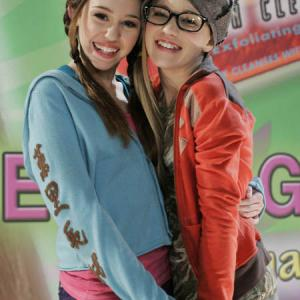 Emily Osment and Miley Cyrus in Hannah Montana 2006