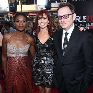 Michael Emerson, Adina Porter and Carrie Preston at event of Tikras kraujas (2008)