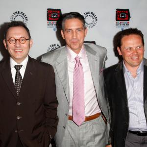 Jim Caviezel, Kevin Chapman and Michael Emerson at event of Person of Interest (2011)