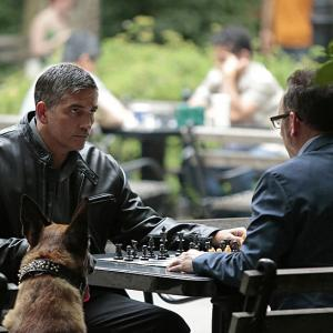 Still of Jim Caviezel and Michael Emerson in Person of Interest (2011)