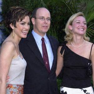 Mariska Hargitay and Prince Albert of Monaco