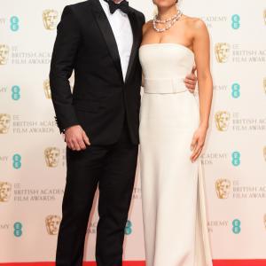 Luke Evans and Samantha Barks