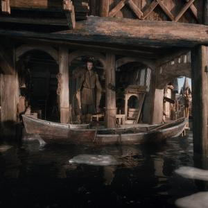 Still of Luke Evans in Hobitas: Smogo dykyne (2013)