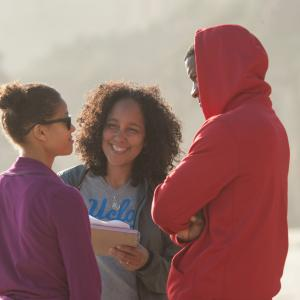 Still of Nate Parker and Gugu MbathaRaw in Beyond the Lights 2014