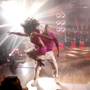 Still of Karina Smirnoff and JR Martinez in Dancing with the Stars 2005