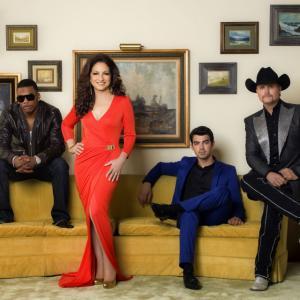 Gloria Estefan Nelly John Rich and Joe Jonas in The Next 2012