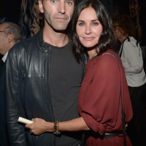 Courteney Cox and John McDaid at event of Hand of God (2014)
