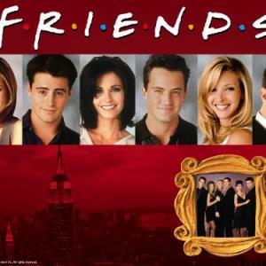Jennifer Aniston, Courteney Cox, Lisa Kudrow, Matt LeBlanc, Matthew Perry and David Schwimmer in Draugai (1994)