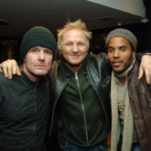 Lenny Kravitz, Matt Sorum, Billy Duffy