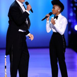 Will Ferrell and Janelle Monáe