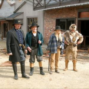 Behind the Scenes  Anthony Hornus as Captain Ketner Bill McKinney as Victor Burnett Rene OConnor as Little Jack and Tommy Dippel as Bobcat Roberts in Ghost Town The Movie filmed at Ghost Town in the Sky in Maggie Valley North Carolina November 2007 Ghost Town in the Sky will reopen May 2007