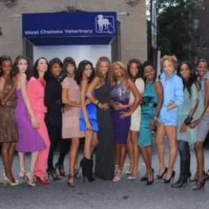 Tyra Banks, Veronica Webb, Anna Cleveland, Beverly Johnson, Stacey McKenzie, Toccara Jones, Selita Ebanks, Quiana Grant