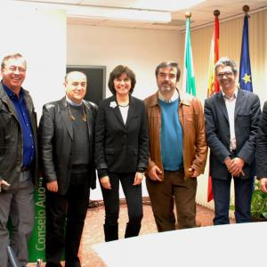 Andalusian producers meeting at the Consejo del Audiovisual Andaluz