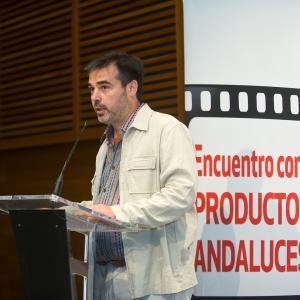 San Sebastian Film Festival (2010) event with Andalusian producers at Kursaal